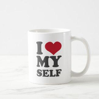 I Love Myself Classic White Coffee Mug