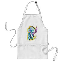 artsprojekt, vainglory, drawing, sins, sin, woman, pride, bible, mirror, seven, portrait, painting, deadly, myself, widow, cain, vanity, vices, superbia, capital, self, fantasy, Apron with custom graphic design