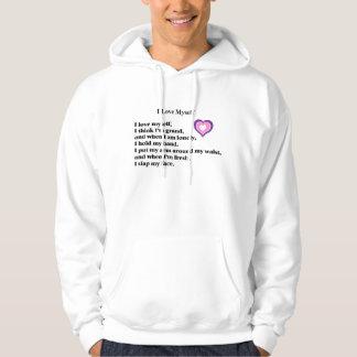I Love Myself, poem T-shirt