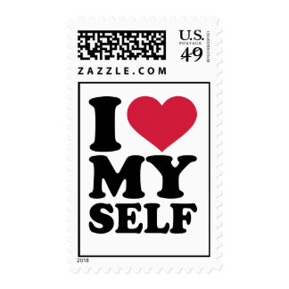 I love myself postage