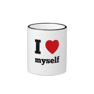 I love myself ringer mug