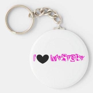 I Love Mystery Keychain