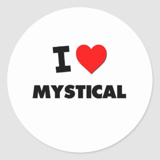 I Love Mystical Sticker