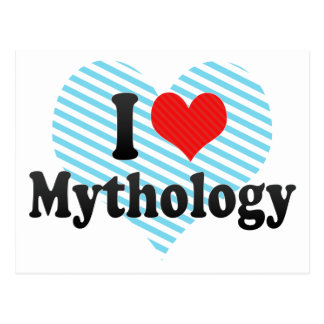 I Love Mythology Postcard