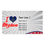 I Love Myton, Utah Business Cards