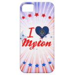 I Love Myton, Utah iPhone 5 Case