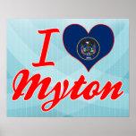 I Love Myton, Utah Print