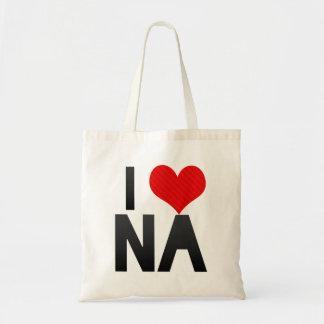 I Love NA Canvas Bags