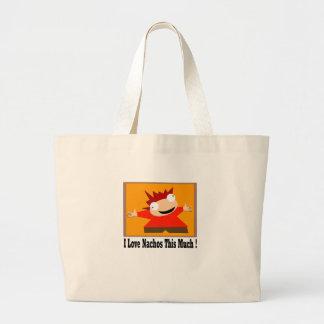 I Love Nachos T-Shirt Bags