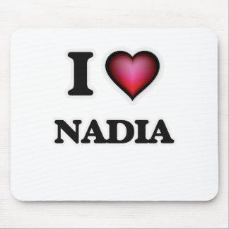 I Love Nadia Mouse Pad