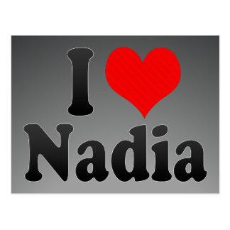 I love Nadia Postcard