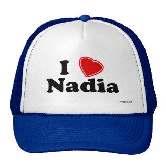 I Love Nadia Trucker Hat