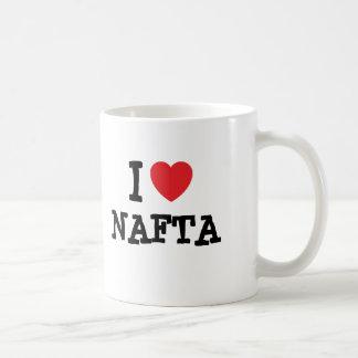 I love NAFTA heart custom personalized Coffee Mug