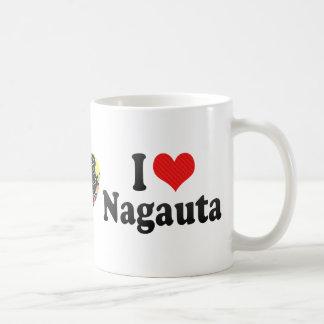 I Love Nagauta Classic White Coffee Mug