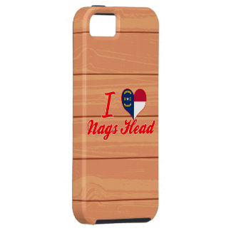 I Love Nags Head, North Carolina iPhone 5 Covers