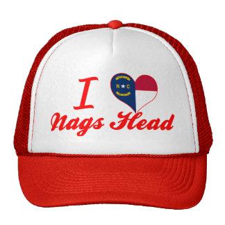 I Love Nags Head, North Carolina Trucker Hat