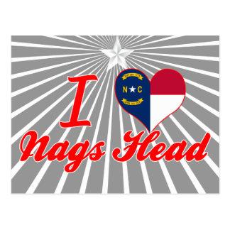I Love Nags Head, North Carolina Postcard
