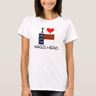 I Love Nags Head North Carolina T-Shirt