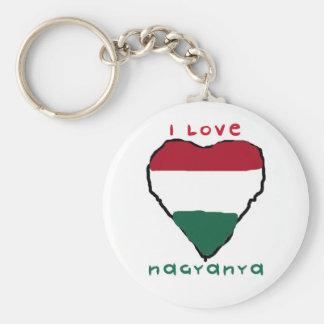 I Love Nagyanya Keychain