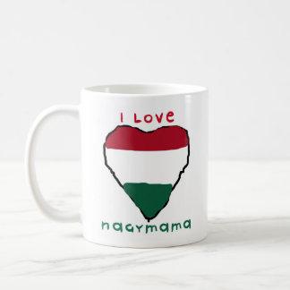 I love Nagymama mug