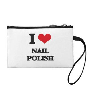 I Love Nail Polish Coin Wallets