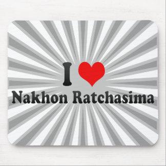 I Love Nakhon Ratchasima, Thailand Mouse Pad