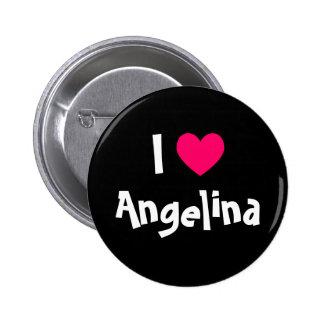 I Love Name Pinback Button