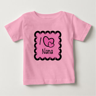 I Love Nana Cute T-Shirt