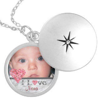 I Love Nana Photo Locket