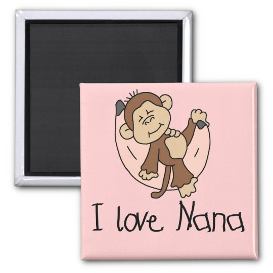 I Love Nana T-shirts and Gifts Magnet