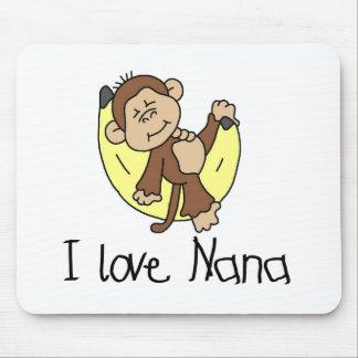 I Love Nana T-shirts and Gifts Mousepad
