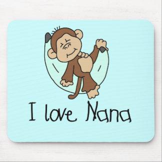 I Love Nana T-shirts and Gifts Mouse Pad