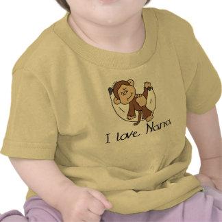I Love Nana Tee Shirt