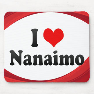 I Love Nanaimo, Canada. I Love Nanaimo, Canada Mouse Pad