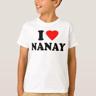 I Love Nanay T-Shirt