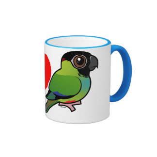 I Love Nanday Conures Coffee Mugs