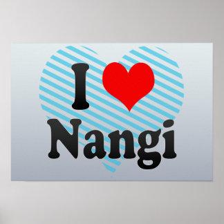 I Love Nangi, India. Mera Pyar Nangi, India Poster