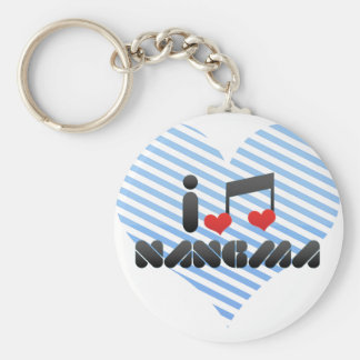 I Love Nangma Key Chains