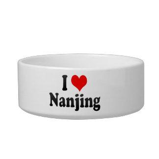 I Love Nanjing, China. Wo Ai Nanjing, China Cat Bowls