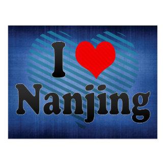 I Love Nanjing, China. Wo Ai Nanjing, China Postcard