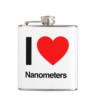 i love nanometers hip flasks