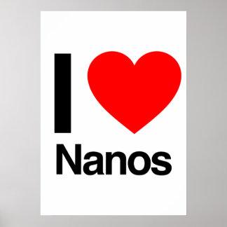 i love nanos poster