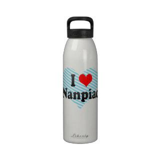 I Love Nanpiao, China. Wo Ai Nanpiao, China Reusable Water Bottle
