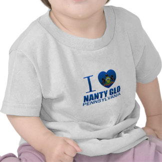I Love Nanty Glo, PA T-shirt