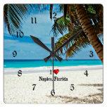 naples florida, tropical, palm tree, beach, i love