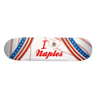 I Love Naples, Illinois Skateboard Deck