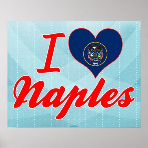 I Love Naples, Utah Print