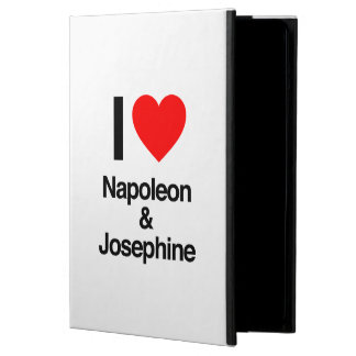 i love napoleon and josephine cover for iPad air