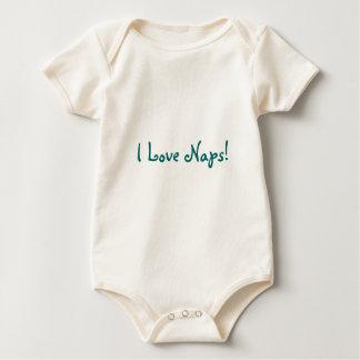 I Love Naps! Baby Bodysuits