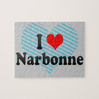 I Love Narbonne, France Puzzle